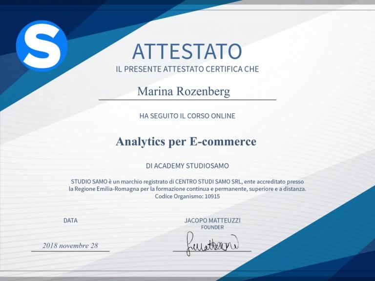 Analitics-per-e-commerce