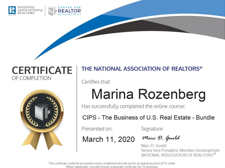 CIPS - The Business of U.S. Real Estate